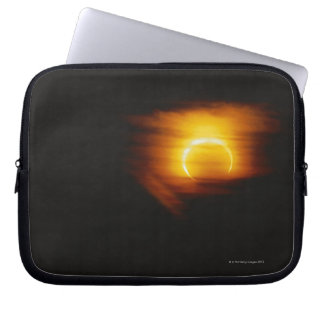 Annular Eclipse Laptop Sleeves