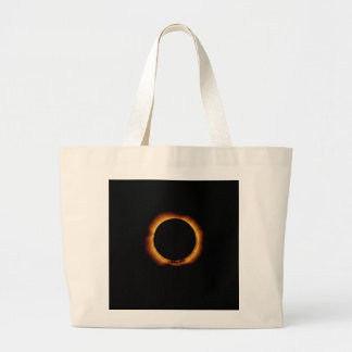 Annular Eclipse Ring of Fire Tote Bags