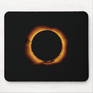Annular Eclipse Ring of Fire Mouse Pad