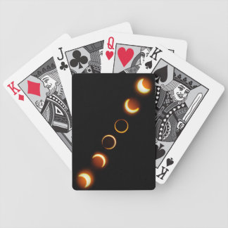 Annular Solar Eclipse May 20, 2012 Bicycle Playing Cards