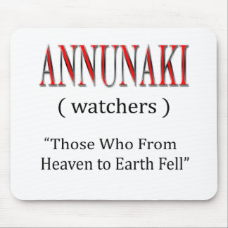 Annunaki From Heaven to Earth Fell Mouse Pad