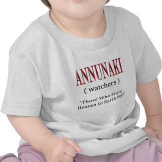 Annunaki From Heaven to Earth Fell Shirts