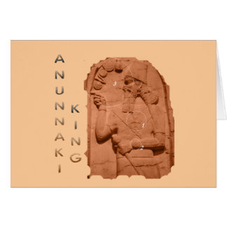 Annunaki King brown Card
