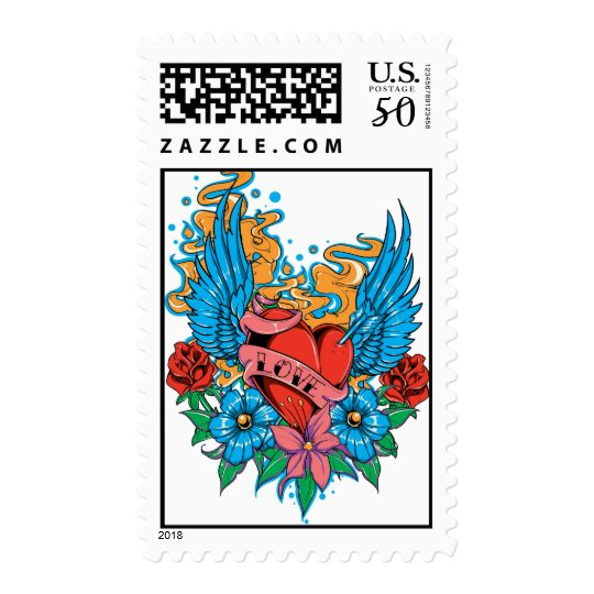 Annunaki Love Postage Stamps