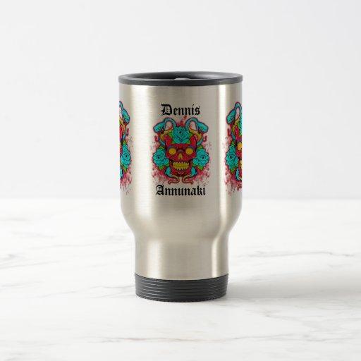 Annunaki Serpent King Travel Mug