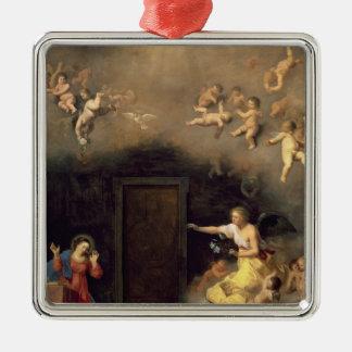 Annunciation, 1635 metal ornament