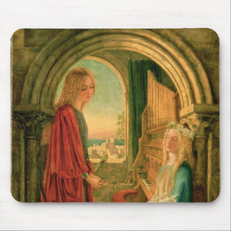 Annunciation, 1859 mouse pad