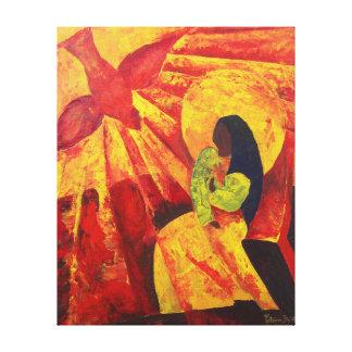 Annunciation 2011 canvas print