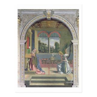 Annunciation 2 postcard