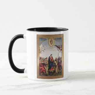 Annunciation and Saints, 1500 Mug
