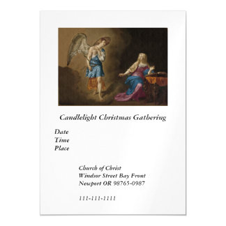 Annunciation Angel and Mary Magnetic Card