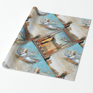 ANNUNCIATION ANGEL AND VIRGIN WRAPPING PAPER
