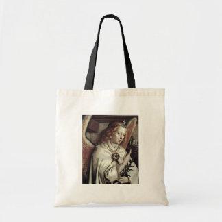 Annunciation Angel  By Eyck Hubert Van Budget Tote Bag