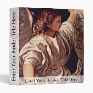 Annunciation Angel By Tizian (Best Quality) 3 Ring Binders