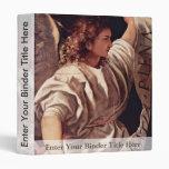 Annunciation Angel By Tizian (Best Quality) Vinyl Binders