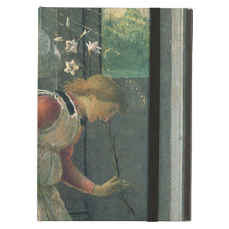 Annunciation (angel detail) by Sandro Botticelli iPad Air Covers