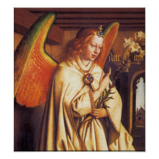 ANNUNCIATION ANGEL ,Detail Poster