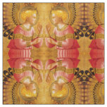 ANNUNCIATION ANGEL IN GOLD AND PINK FABRIC