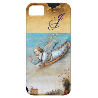 ANNUNCIATION ANGEL  MONOGRAM ,Brown Parchment iPhone SE/5/5s Case