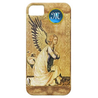 ANNUNCIATION ANGEL MONOGRAM,Parchment iPhone 5 Cover