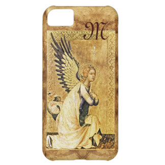 ANNUNCIATION ANGEL MONOGRAM,Parchment Cover For iPhone 5C