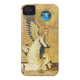 ANNUNCIATION ANGEL MONOGRAM,Parchment Case-Mate iPhone 4 Case