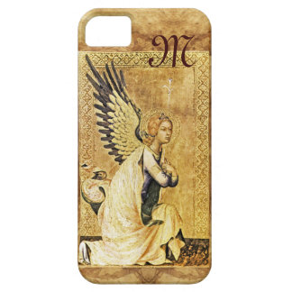 ANNUNCIATION ANGEL MONOGRAM,Parchment iPhone 5 Cases