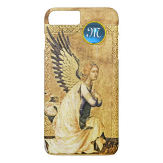 ANNUNCIATION ANGEL MONOGRAM,Parchment iPhone 7 Plus Case