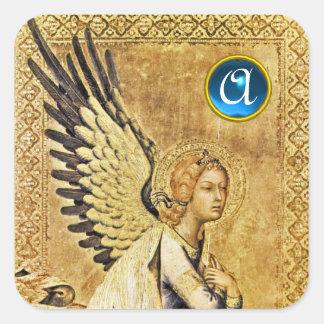 ANNUNCIATION ANGEL Monogram Square Sticker