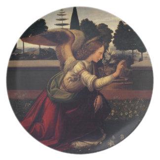 Annunciation - Angel Plate