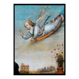 ANNUNCIATION ANGEL POSTER