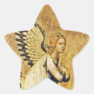 ANNUNCIATION ANGEL Star Star Sticker