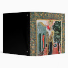 Annunciation at the Fountain 3 Ring Binder