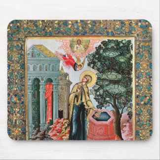 Annunciation at the Fountain Mouse Pad
