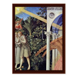 Annunciation  By Angelico Fra Postcards