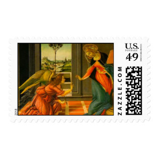 Annunciation by Botticelli Postage
