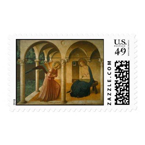 Annunciation by Broederlam Postage