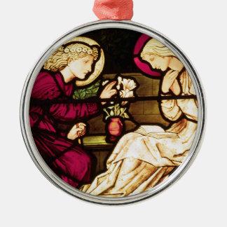 Annunciation by Burne-Jones Ornament
