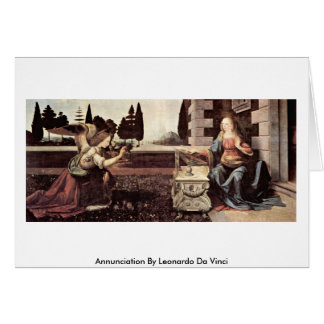 Annunciation By Greeting Card