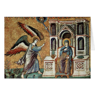 Annunciation By Cavallini Pietro (Best Quality) Greeting Card