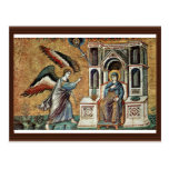 Annunciation By Cavallini Pietro (Best Quality) Post Card
