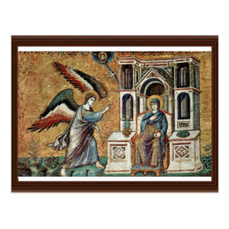 Annunciation By Cavallini Pietro (Best Quality) Postcard