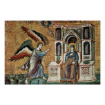 Annunciation By Cavallini Pietro (Best Quality) Posters