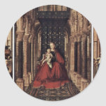 Annunciation By Eyck Jan Van (Best Quality) Stickers