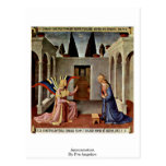 Annunciation By Fra Angelico Postcards