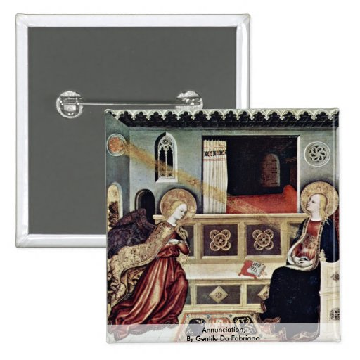 Annunciation,  By Gentile Da Fabriano Pins