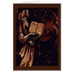 Annunciation  By Grünewald Mathis Gothart (Best Qu Card