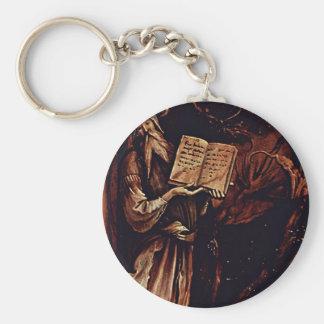 Annunciation  By Grünewald Mathis Gothart (Best Qu Key Chains