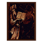 Annunciation  By Grünewald Mathis Gothart (Best Qu Post Card