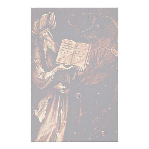 Annunciation  By Grünewald Mathis Gothart (Best Qu Stationery